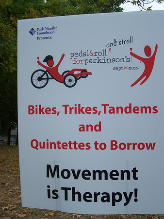 Pedal, Roll & Stroll for Parkinson's